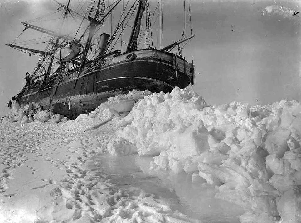 shackletons lost ship endurance - 965×717