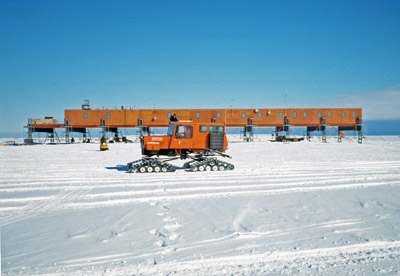 Sno-Cat and Station