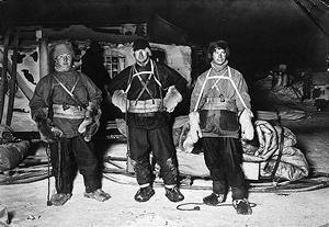 Famous old Antarctic blokes