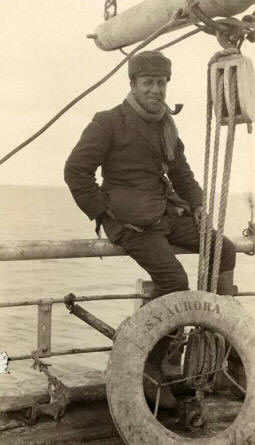 Archibald McLean on board the Aurora